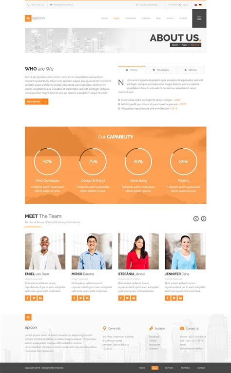 wordpress themes download zip epicon minimalist multipurpose wordpress theme download