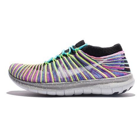 nike motion running shoes wmns nike free rn motion flyknit multi color grey