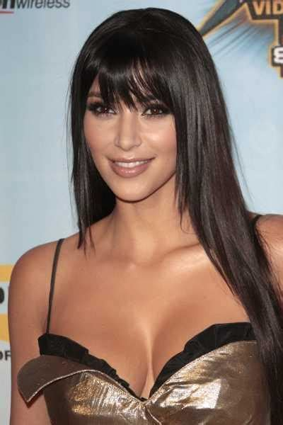 hairstyles for long hair kim kardashian scene hairstyles women january 2010