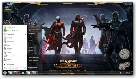 pc themes vikitech star wars the old republic theme for windows 7 by