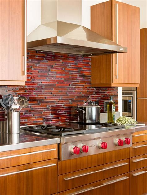 red kitchen backsplash ideas colorful kitchen backsplash ideas digsdigs
