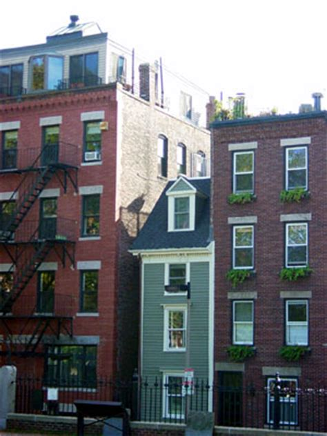 narrowest house in boston more than a feeling a boston travelogue raise the hammer