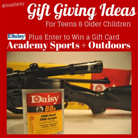 Gift Card Giving Ideas - gift giving ideas for teens and older children outdoor fun with daisy itsadaisy