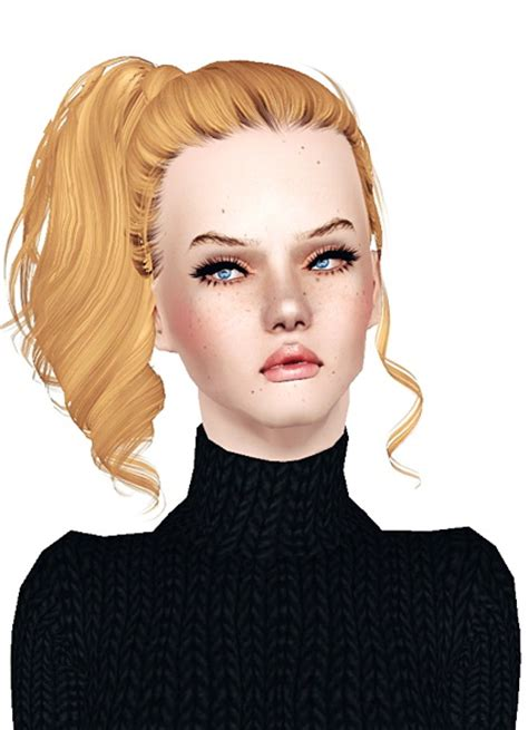 side ponytail sims 3 the sims 3 side high ponytail hairstyle skysims 153