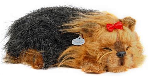 petzzz yorkie yorkie petzzz new soft like sleeping breathing pet puppy ebay