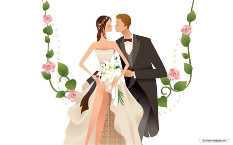 Animation Wedding by Animated Wedding Weddings Wallpaper 31771354 Fanpop