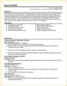 Airport Customer Service Sle Resume by Airline Customer Service Resume