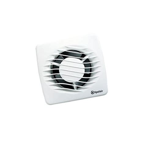 axial bathroom fan xpelair dx100t axial 12w bathroom fan 4 inch 100mm with timer at uk electrical supplies