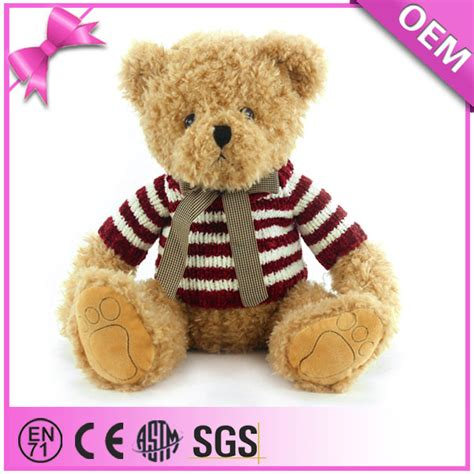 plush teddy bears names stuffed bear from china supplier