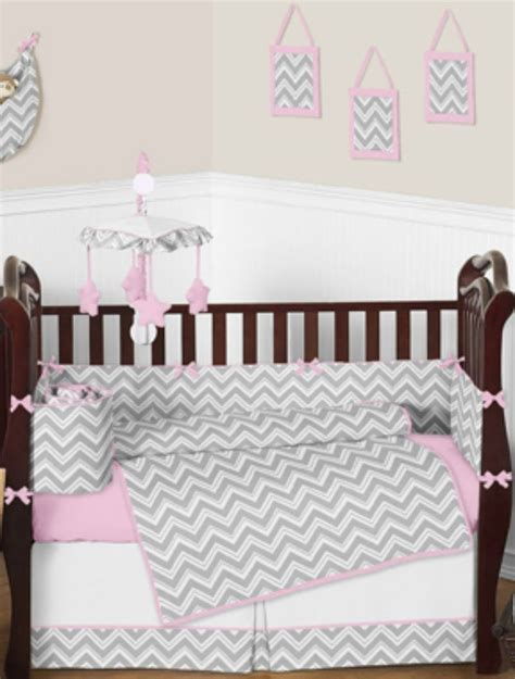 pink and grey chevron baby bedding 1000 ideas about chevron baby bedding on pinterest gray chevron nursery grey