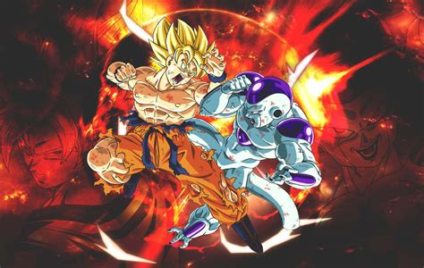 imagenes de goku vs frezer le combat le plus 233 pique de dragon ball z gt super