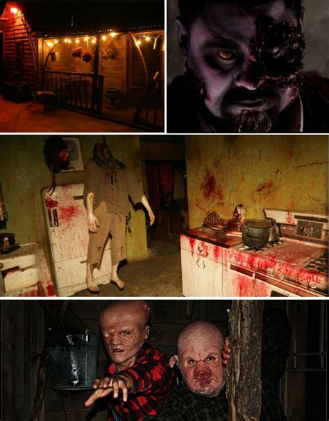planet amusing halloween horror americas  scariest haunted houses