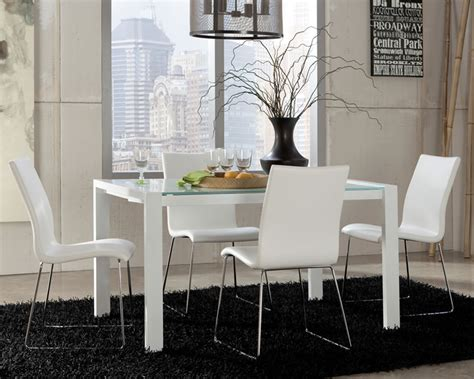 Cheap Contemporary Dining Room Furniture Contemporary White Leather Dining Room Chairs Designer Tables Reference