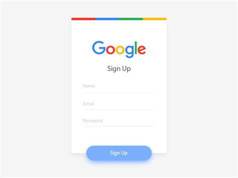 google sign up google sign up uplabs