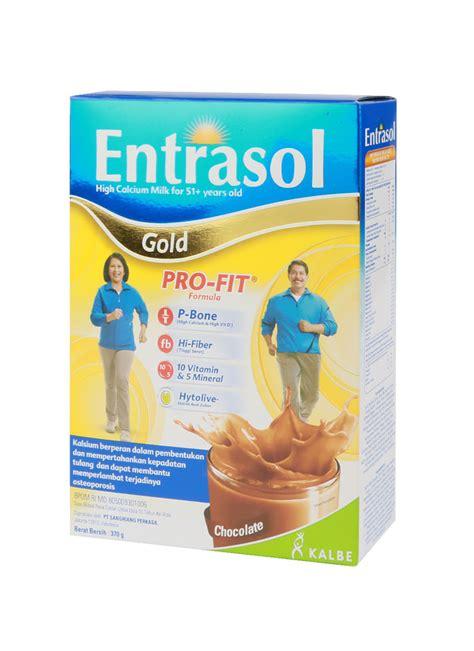 Entrasol Gold entrasol gold bubuk coklat box 2x185g klikindomaret