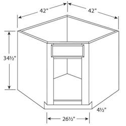 Standard Kitchen Corner Cabinet Sizes Corner Kitchen Cabinet Dimensions Mishistoriasdeterror