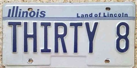 Illinois Vanity License Plates Search by Vtg Original Paint 1971 Illinois Embossed Metal License