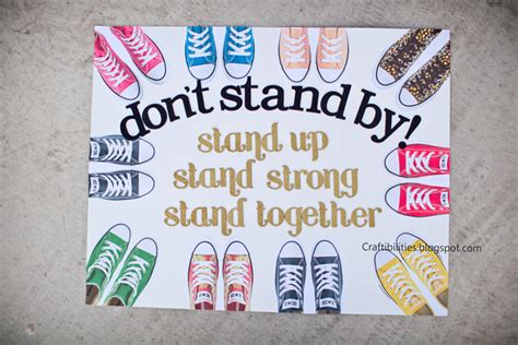 poster ideas october anti bullying caign poster ideas diy