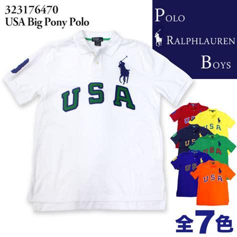 Polo Boy Usa 楽天市場 在庫処分セール ポロ ラルフローレン ボーイズ polo ralph boysusa big pony polo ビッグポニー 215 usa パッチワーク半袖