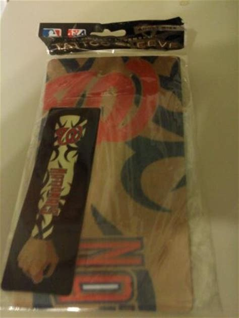 washington nationals tattoo washington nationals sleeve new in package