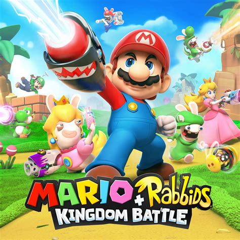 Kaset Nintendo Switch Mario Rabbids Kingdom Battle mario rabbids 174 kingdom battle nintendo switch nintendo