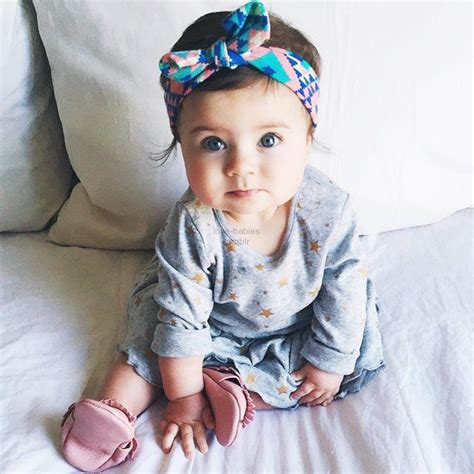 headband top baby new baby floral top knot headband for baby hair