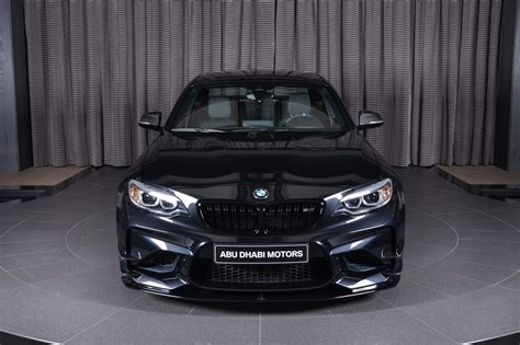 Black Sapphire 2 sapphire black bmw m2 gets ac schnitzer kit in abu dhabi