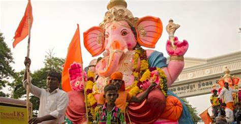 ganesh chaturthi festival telangana india   festival packages hotels travelwhistle