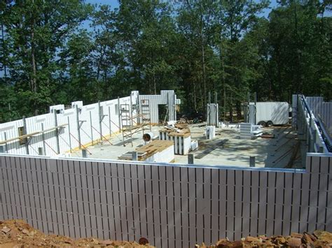 foam basement forms arxx icf insulated concrete form foam moisture barrier