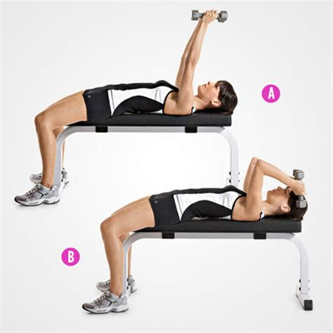 bench tricep extension 6 trainers favorite exercises for stronger sculpted arms
