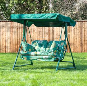 Patio Swing Material Alfresia Luxury Garden Swing Seat Cushions 2 Seater Ebay