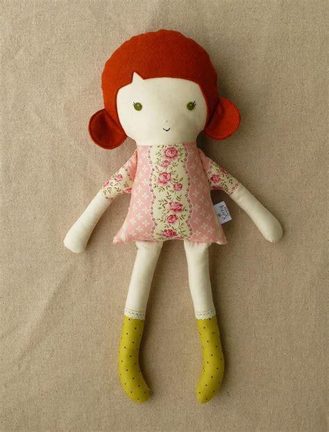 Boneka Babi Pig Plush Doll Original Classic Doll fabric doll rag doll with hair baby fabric she is gorgeous and fabrics