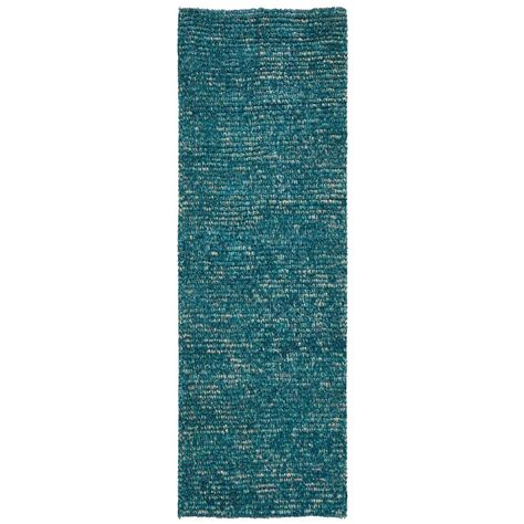 Turquoise Runner Rug Nourison Fantasia Turquoise 2 Ft 3 In X 8 Ft Rug Runner 224712 The Home Depot