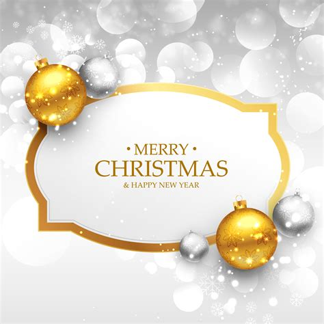 beautiful merry christmas greeting design  realistic gold    vector art