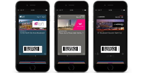 Gift Card Passbook - starwood hotels apple passbook stephen gates executive creative director