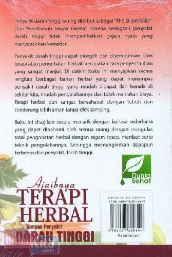 Buku Ajaib Terapi Herbal Tumpas Penyakit Darah Tinggi bukukita ajaibnya terapi herbal tumpas penyakit darah tinggi