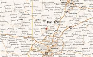 Hamilton Ohio Map by Hamilton Ohio Location Guide