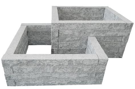 Hochbeet Bauen Stein by Hochbeet Bausatz Aus Granit Stein Naturstein Kaufen