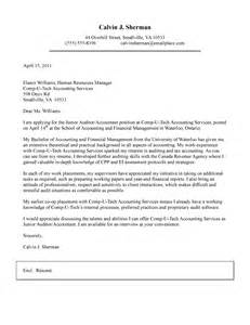 cover letter for junior accountant application letter sle cover letter sle for