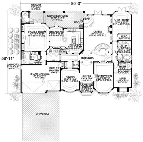 luxury master suite floor plans two story luxury mediterranean home plan 32066aa 2nd