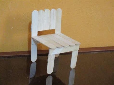 como hacer otro modelo de silla  munecas  palitos bajalengua youtube
