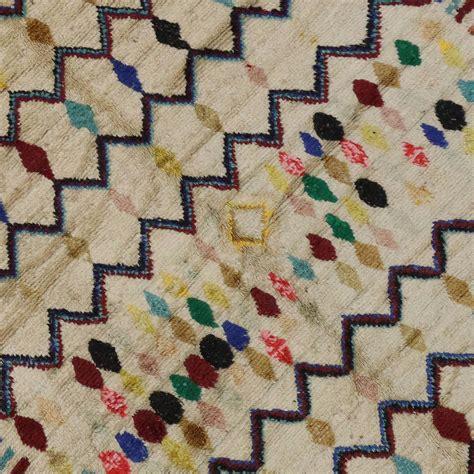 harlequin pattern carpet vintage azilal berber moroccan rug with harlequin design