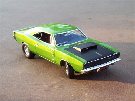 dodge model cars 1968 dodge charger 2 n1 plastic model car kit in 1 25