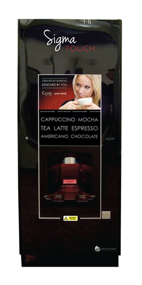 Sigma The Touch westomatic sigma touch drinks machine
