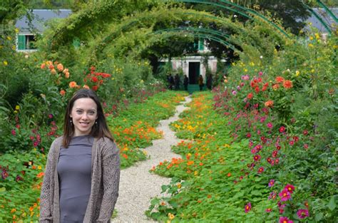 Rebecca S Texas Garden Monet S Giverny Garden The Clos Flowers In The Garden Of