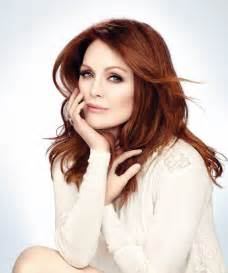how to get julianne moores hair color arts cross stitch julianne moore photoshoot for