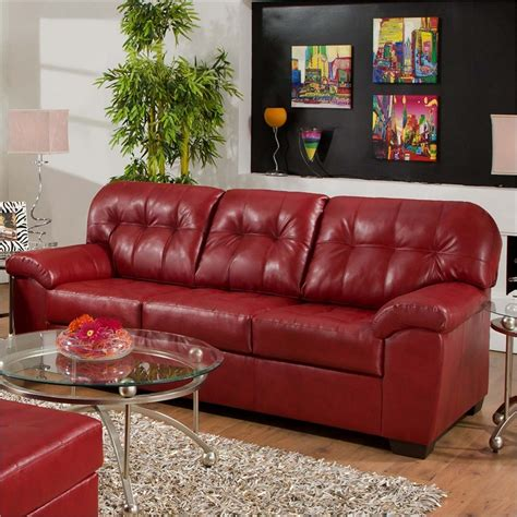 Leather Sofa With Upholstered Cushions by Upholstery Leather Sofa Simmons Faux Leather Sofa