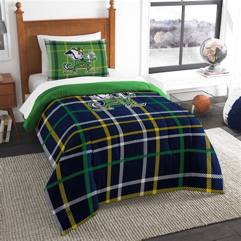 notre dame bedding ncaa twin bedding set university of notre dame shop