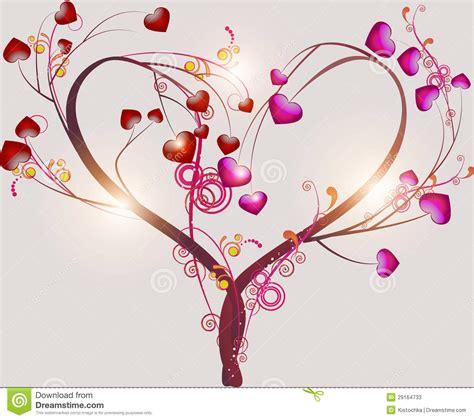 imagenes abstractas sobre el amor 193 rbol abstracto que simboliza amor fotos de archivo