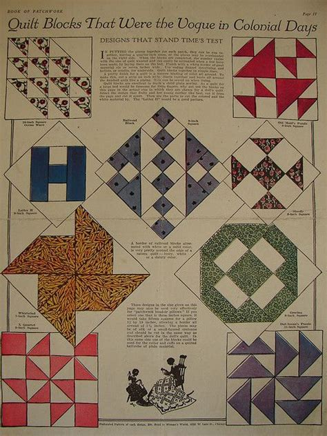 vintage pattern names vintage quilt block patterns picmia quilts pinterest